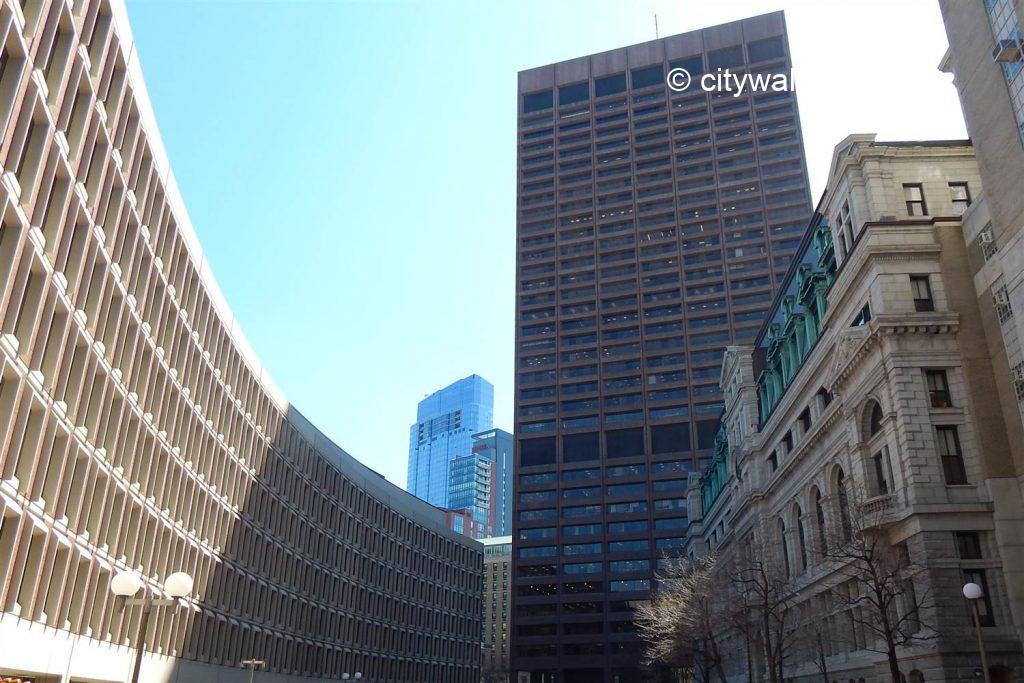 Promenade à Boston, le West End
