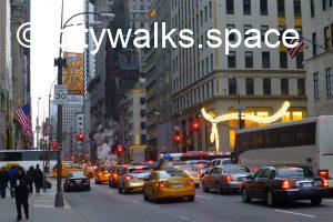 promenade à New York