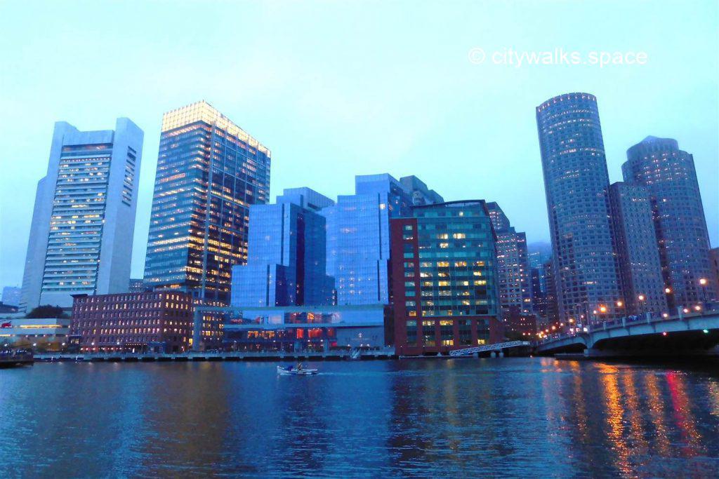 Vue du Financial District