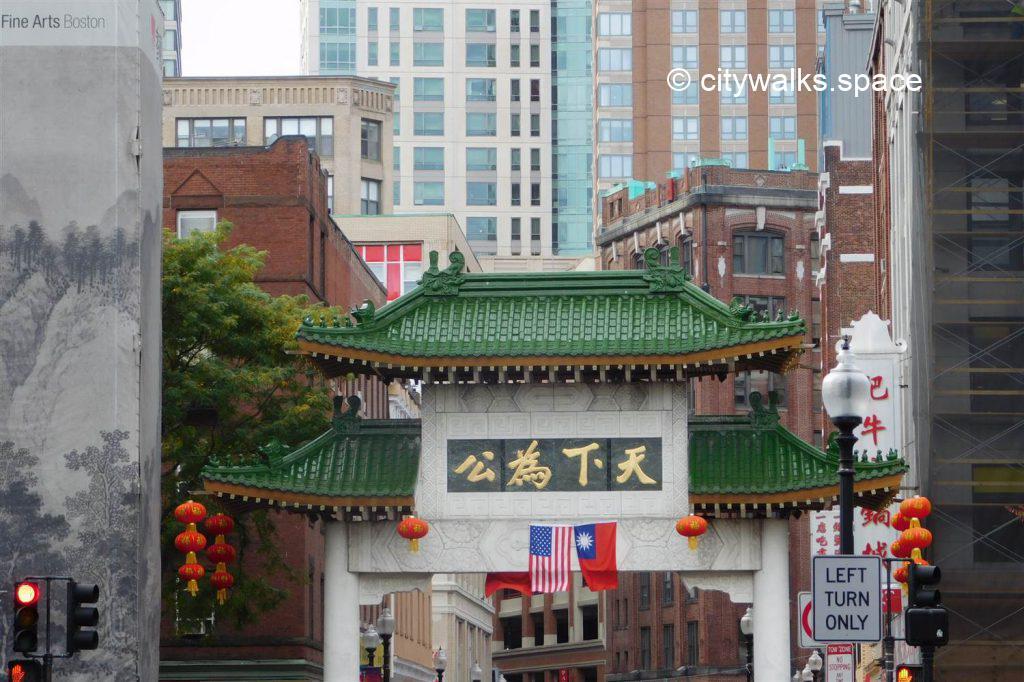 quartier de Chinatown, Boston
