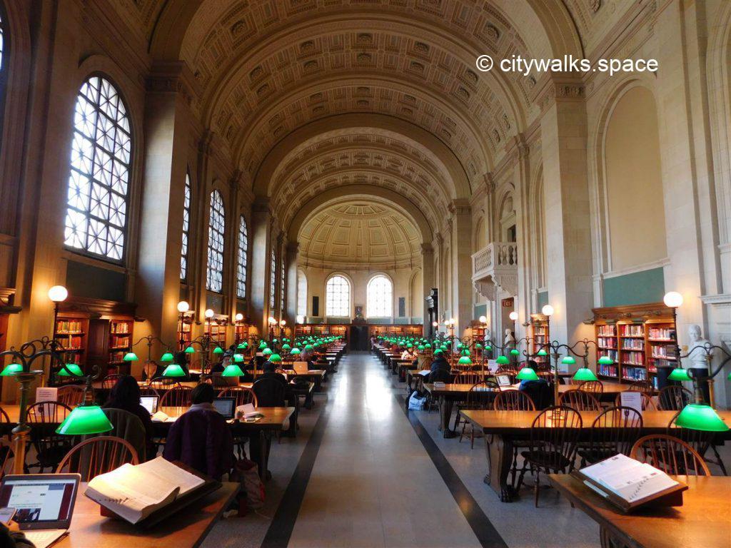 Bates Hall, Boston Public Library