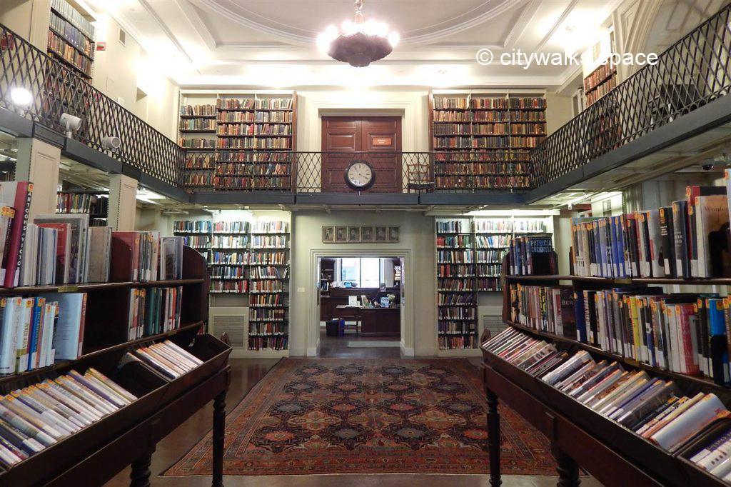 Athenaeum library, Boston