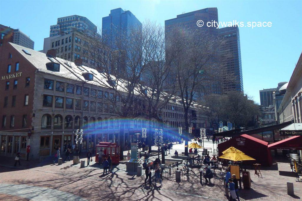 Quincy Market, Boston, MA