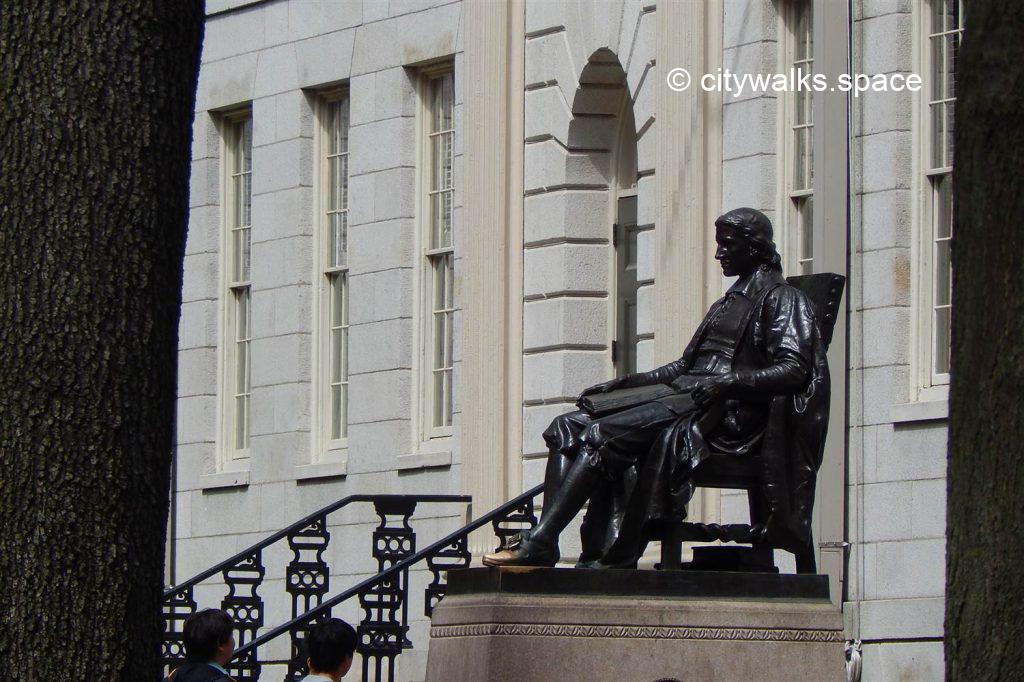 John Harvard, Cambridge, MA