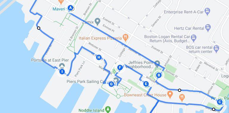 l'ancien et le nouveau east Boston