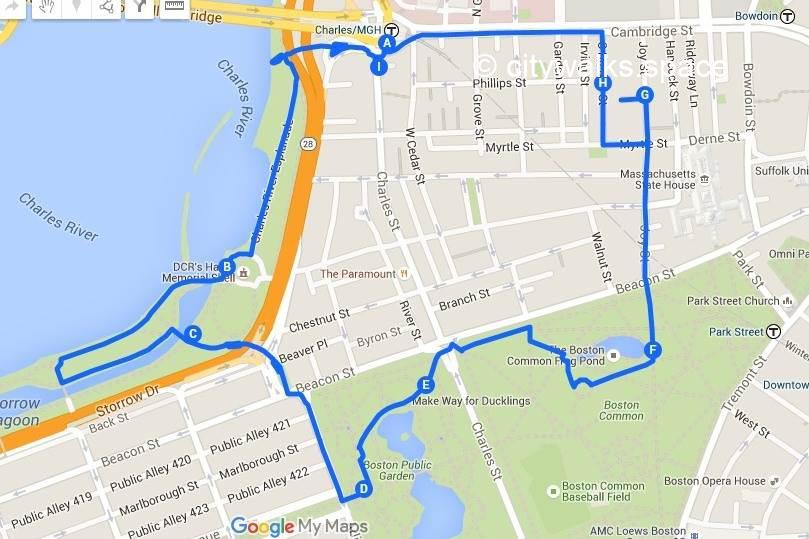 Promenade à Boston numéro 11